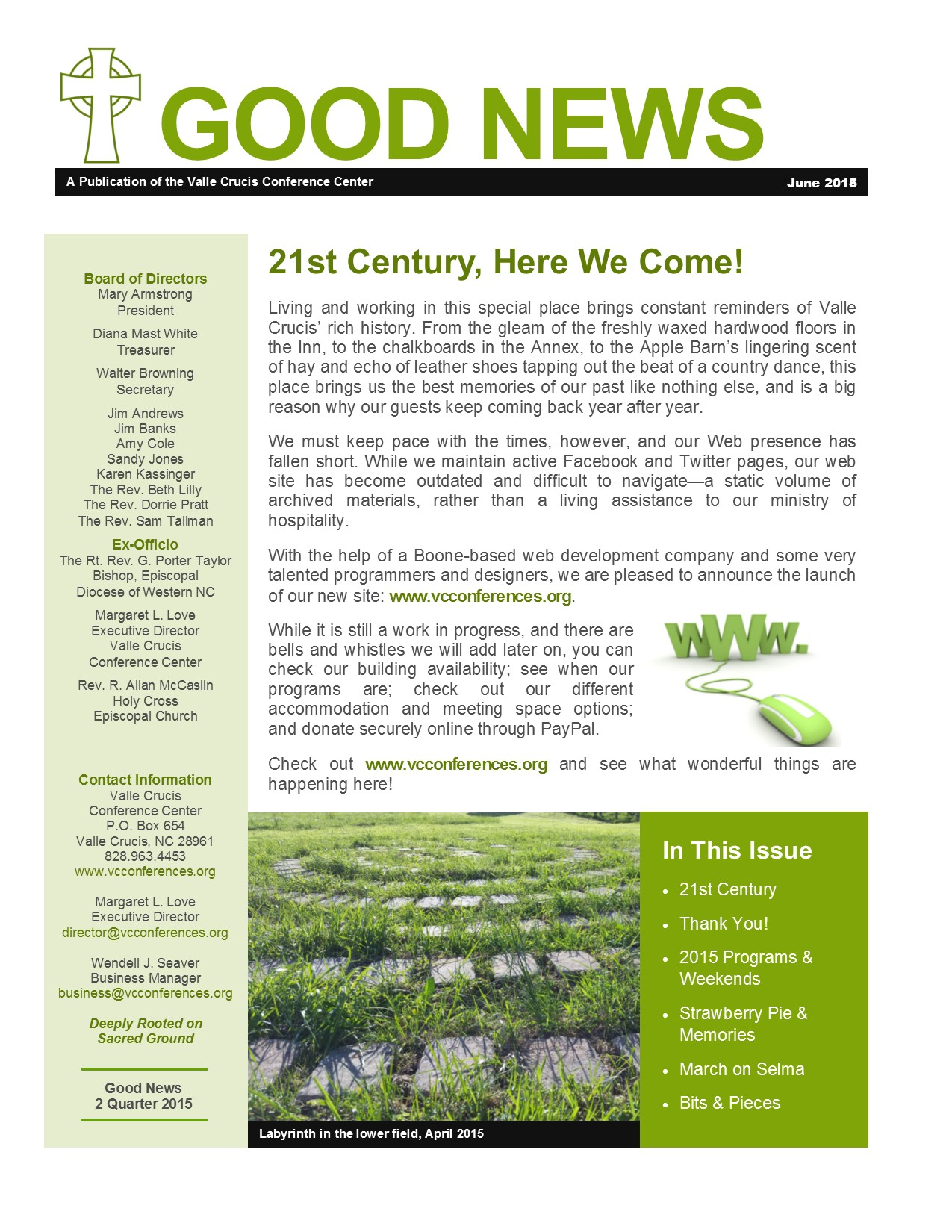 click here for the latest good news our quarterly newsletter the link will open in a new window