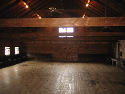 Apple Barn interior