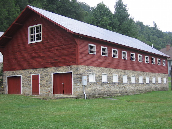 Apple Barn exterior