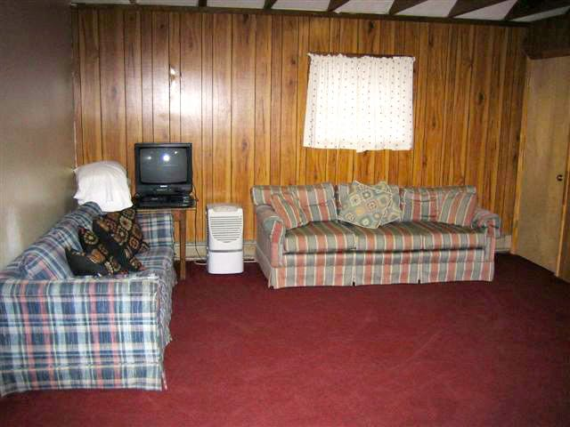 Bunkhouse living area