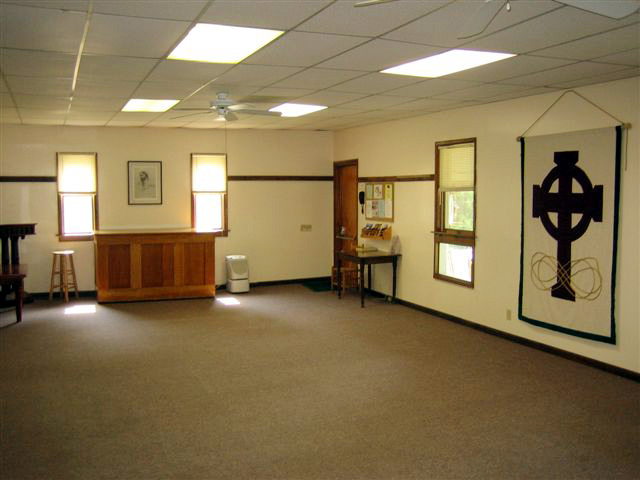 Crab Orchard Hall interior