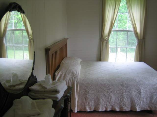 Mission House bedroom