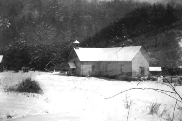 Original Holy Cross Church, now Crab Orchard Hall